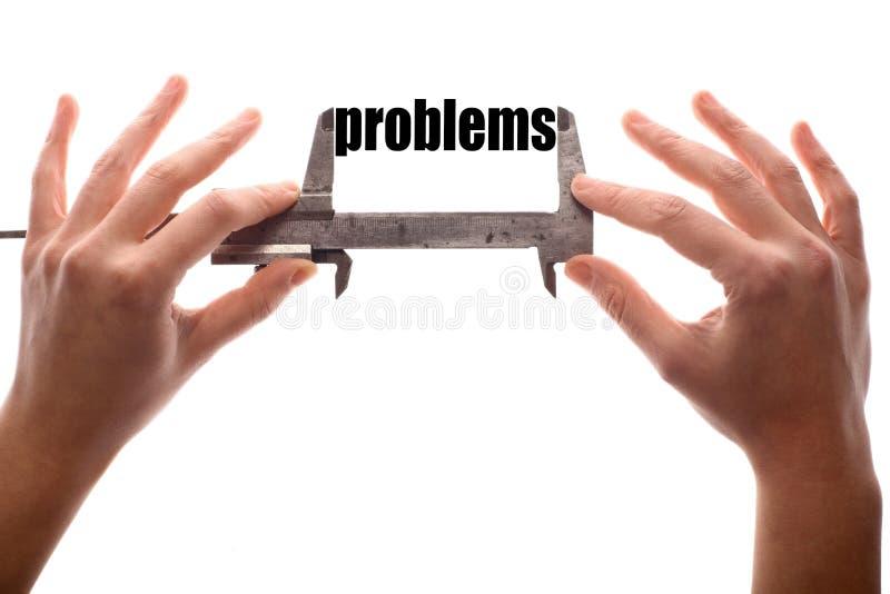 Große Probleme stockfoto