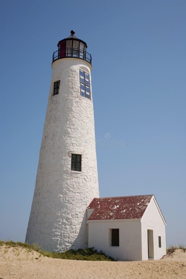 Große Punkt-Leuchte Nantucket stockfotos