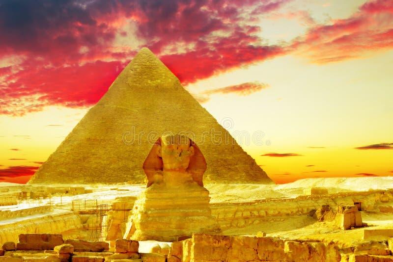 Große Pyramide lizenzfreies stockfoto