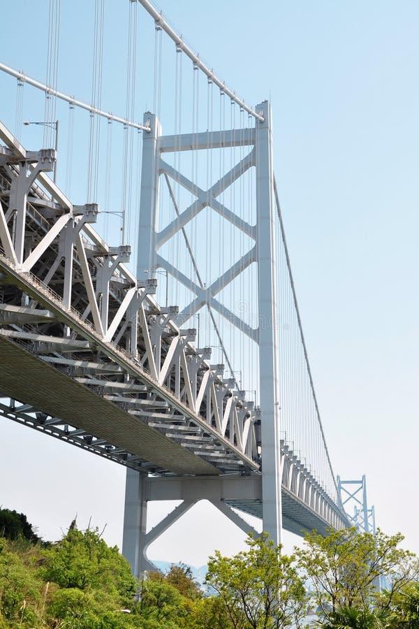 Große Seto-Brücke, zwischen Shikoku und Honshu Japan lizenzfreies stockfoto