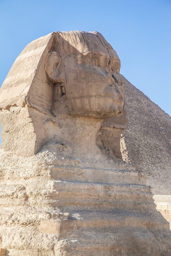 Große Sphinx lizenzfreie stockfotografie