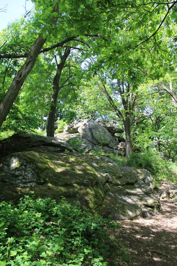 Große Steine in Szentbekalla lizenzfreies stockfoto