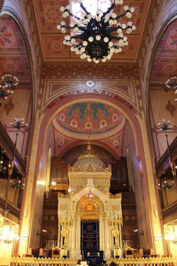 Große Synagoge von Budapest stockbild