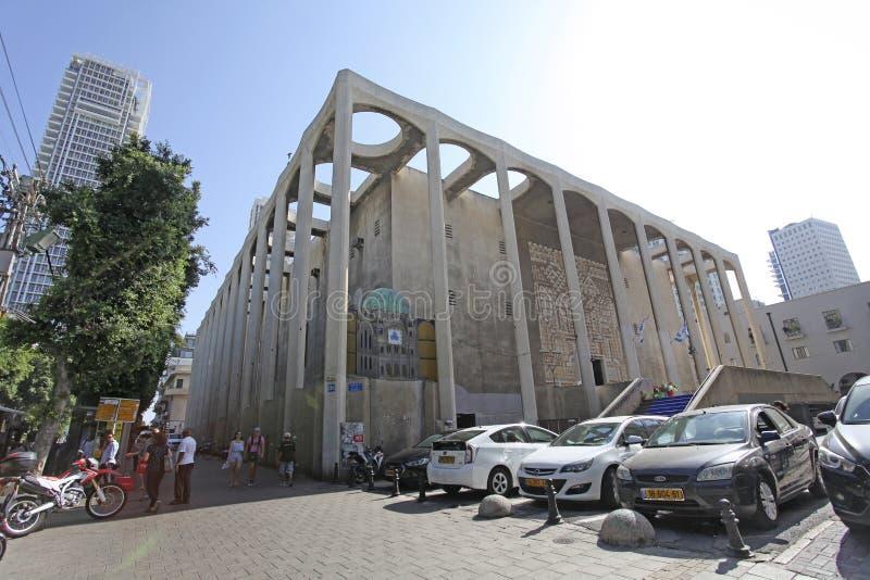 Große Synagoge von Tel Aviv lizenzfreies stockfoto