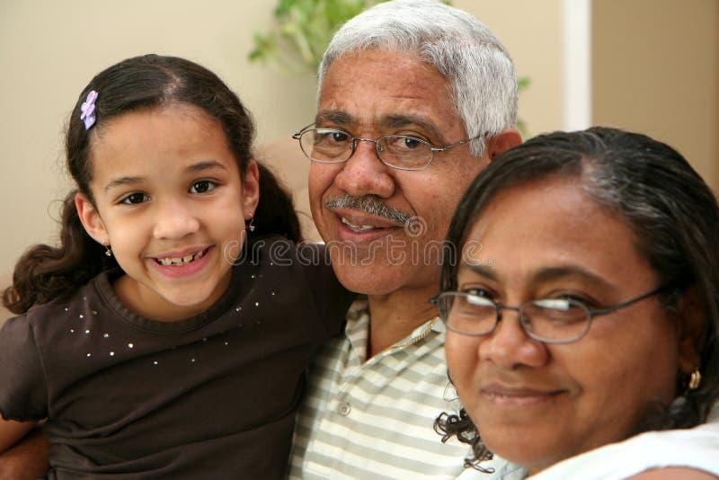 Großeltern lizenzfreie stockfotos