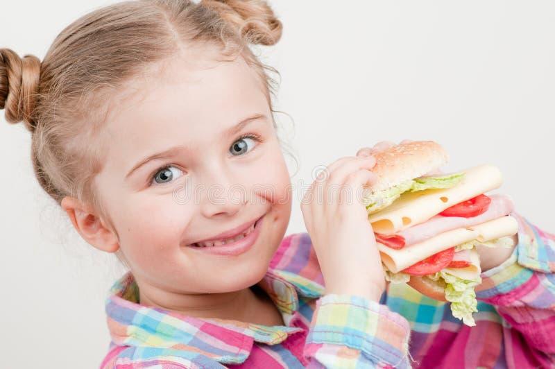 Großer Appetit lizenzfreies stockfoto