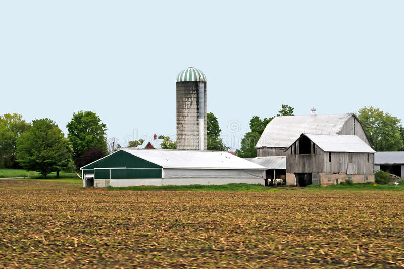 Großer Bauernhof stockfoto