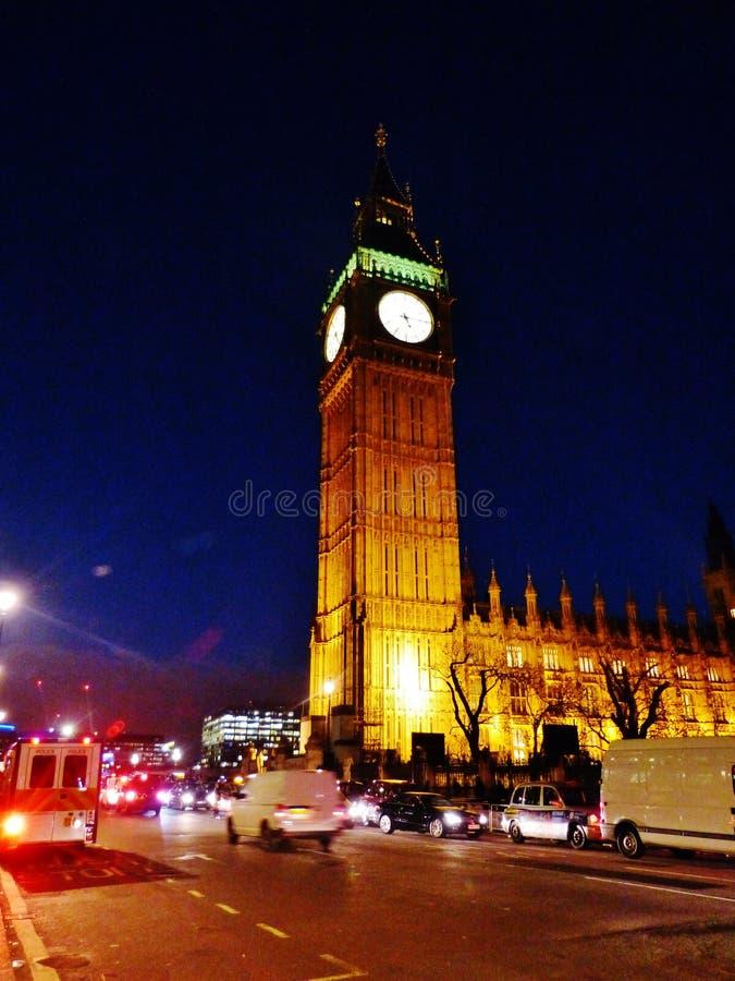 Großer Ben Houses des Parlaments England Großbritannien lizenzfreie stockbilder