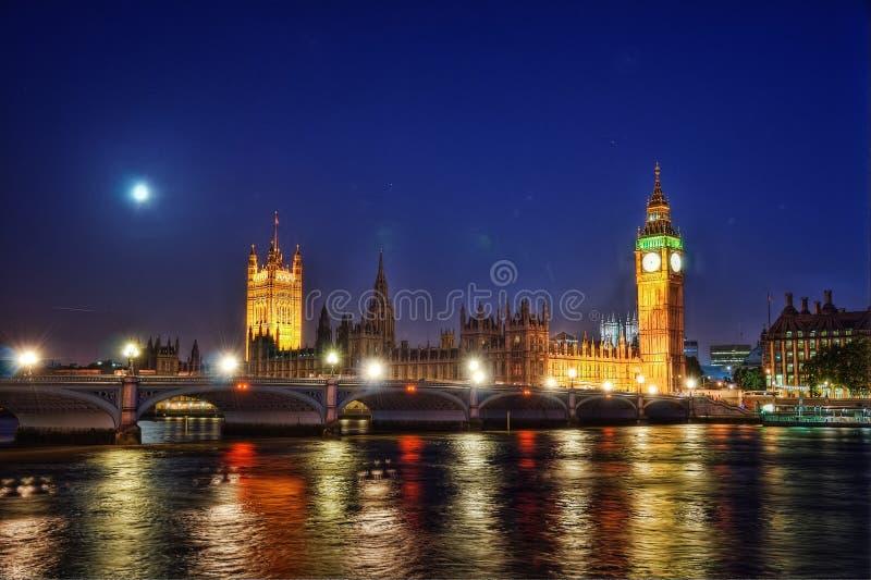 Großer Ben London United Kingdom stockfotografie