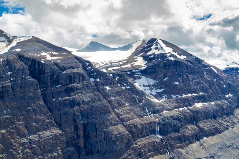 Großer Ben Peak bei Parker Ridge in Jasper National Park lizenzfreies stockbild