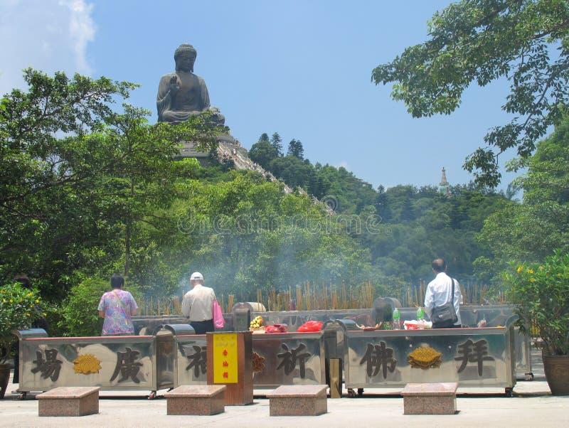 Großer Buddha stockbilder