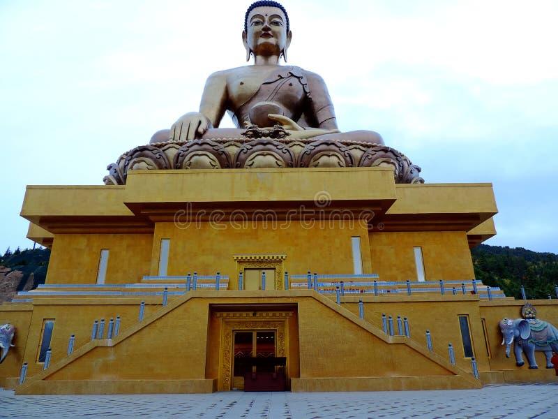 Großer Buddha Dordenma, Thimphu, Bhutan lizenzfreies stockfoto
