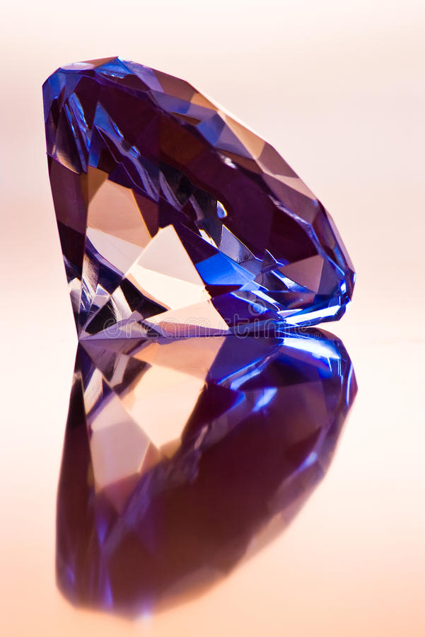 Großer Diamant lizenzfreies stockfoto