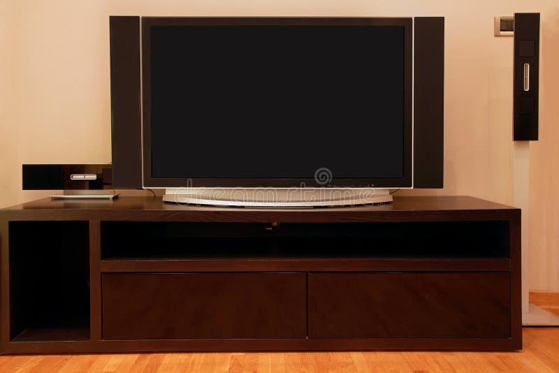 Großer Fernsehapparat lizenzfreie stockfotografie