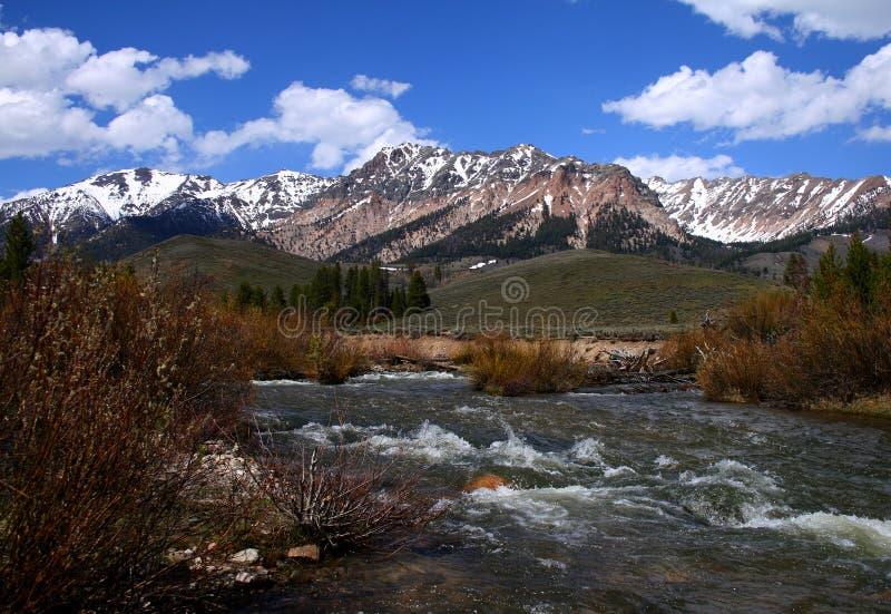 Großer hölzerner Fluss 2009 01 lizenzfreies stockbild