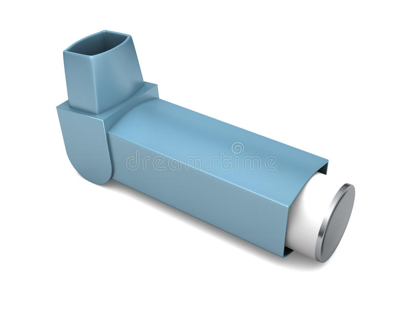 Großer Inhalator vektor abbildung