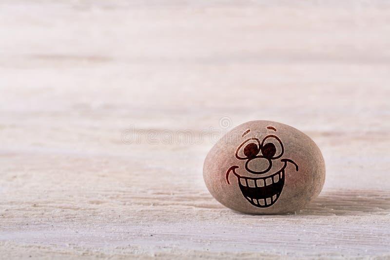 Großer Lächeln Emoticon lizenzfreie stockfotos