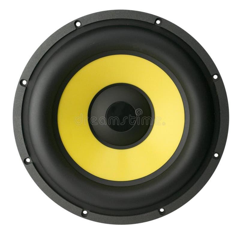 Großer Lautsprecher stockfoto