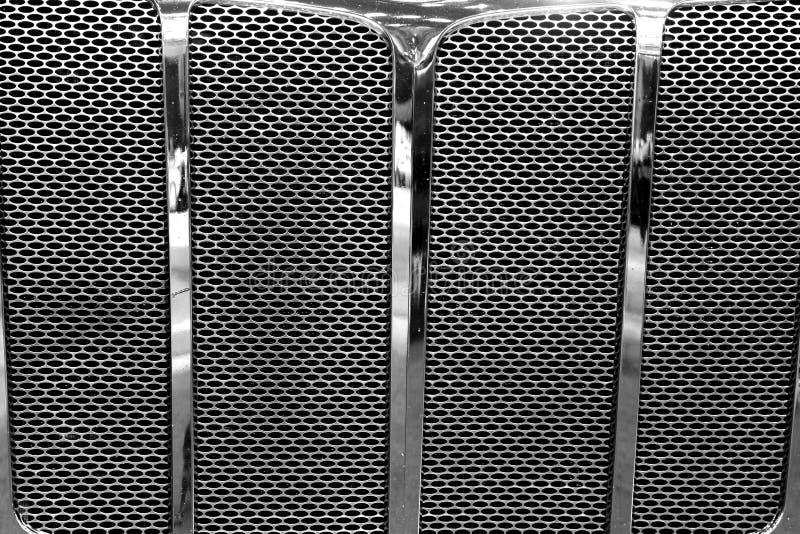 Großer LKW-Grill lizenzfreie stockbilder