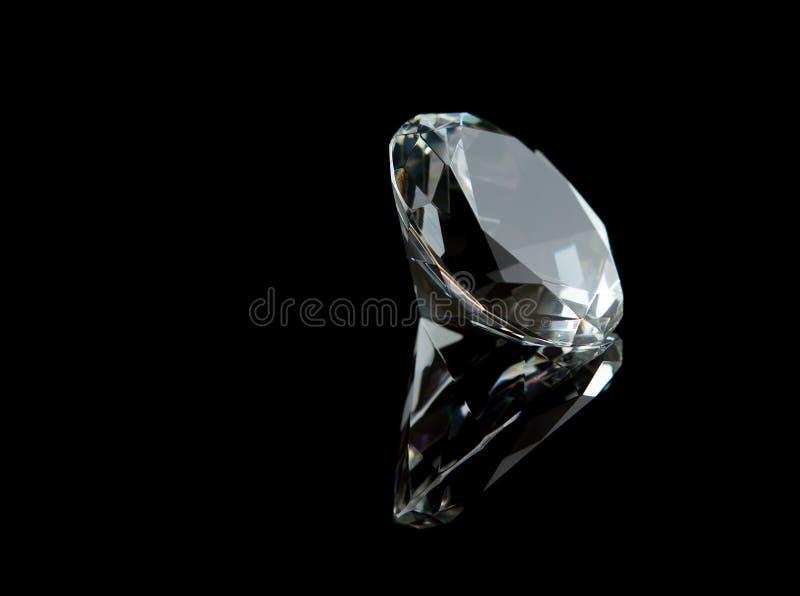 Großer Luxuxdiamant lizenzfreies stockbild