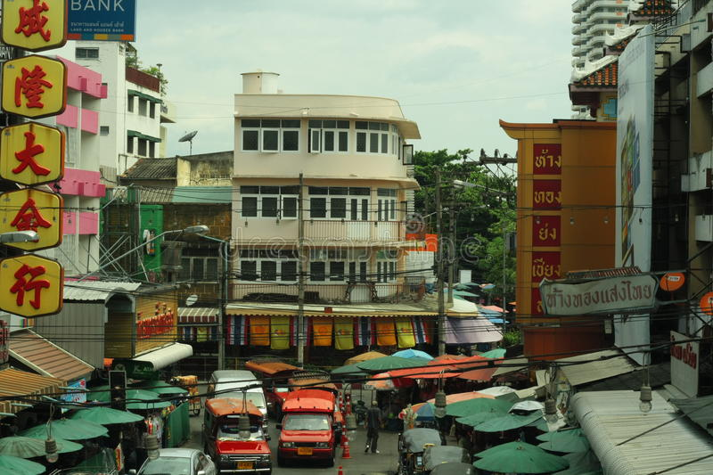 Großer Markt ChaingMai lizenzfreie stockbilder
