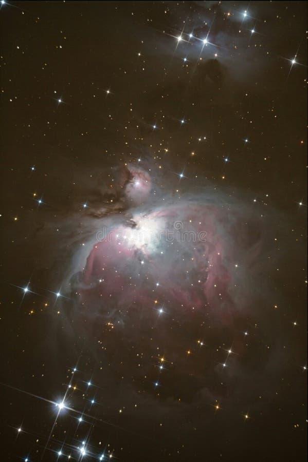 Großer Orion-Nebelfleck lizenzfreies stockbild