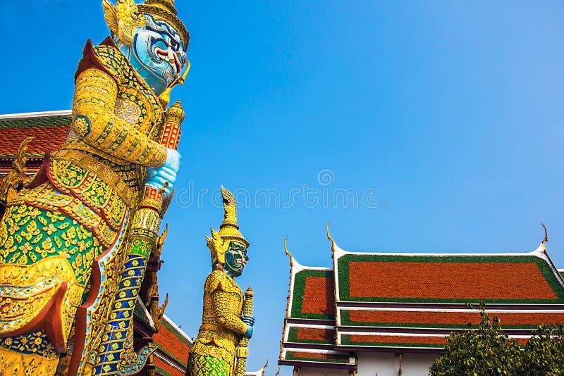 Großer Palast Bangkok Thailand stockbild