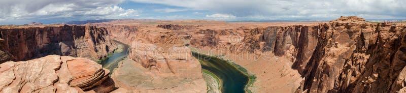 Großer Panoramablick der Kehre Arizona, USA lizenzfreie stockbilder