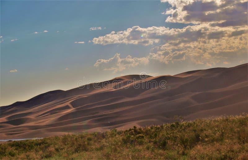 Großer Sanddüne-Nationalpark stockfotografie
