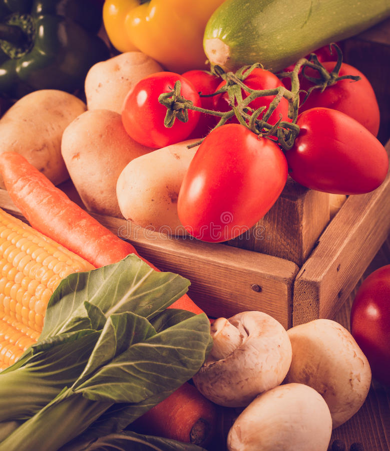 Großer Satz Gemüse lizenzfreie stockfotografie