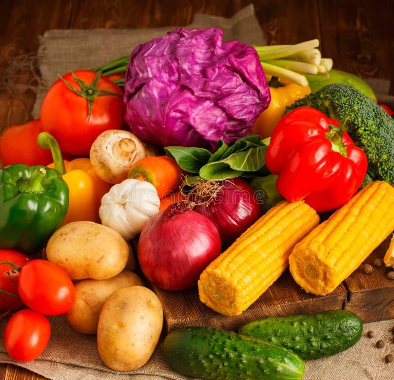 Großer Satz Gemüse lizenzfreies stockbild