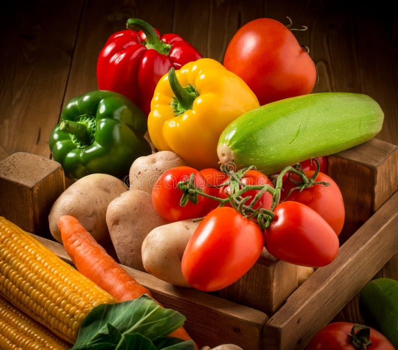 Großer Satz Gemüse lizenzfreie stockfotos