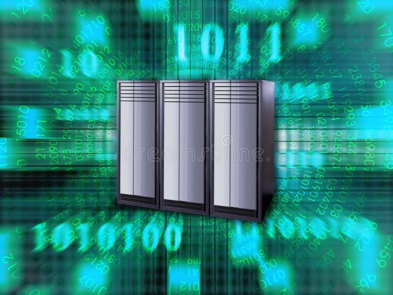 Großer Server stock abbildung