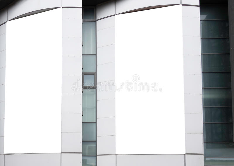 Großer Spott des freien Raumes oben des Speicherstraßen-Schaukastenfensters lizenzfreie stockfotografie