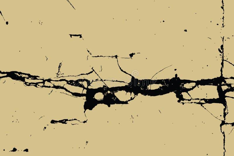 Großer Sprung in der Wand vektor abbildung