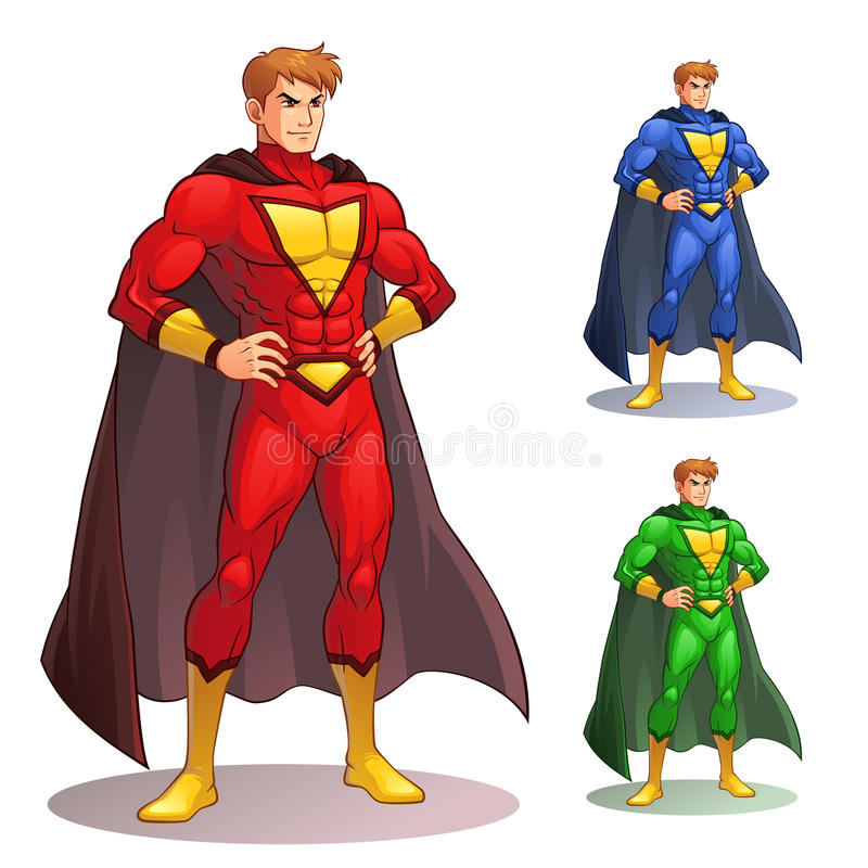 Großer Superheld lizenzfreies stockfoto