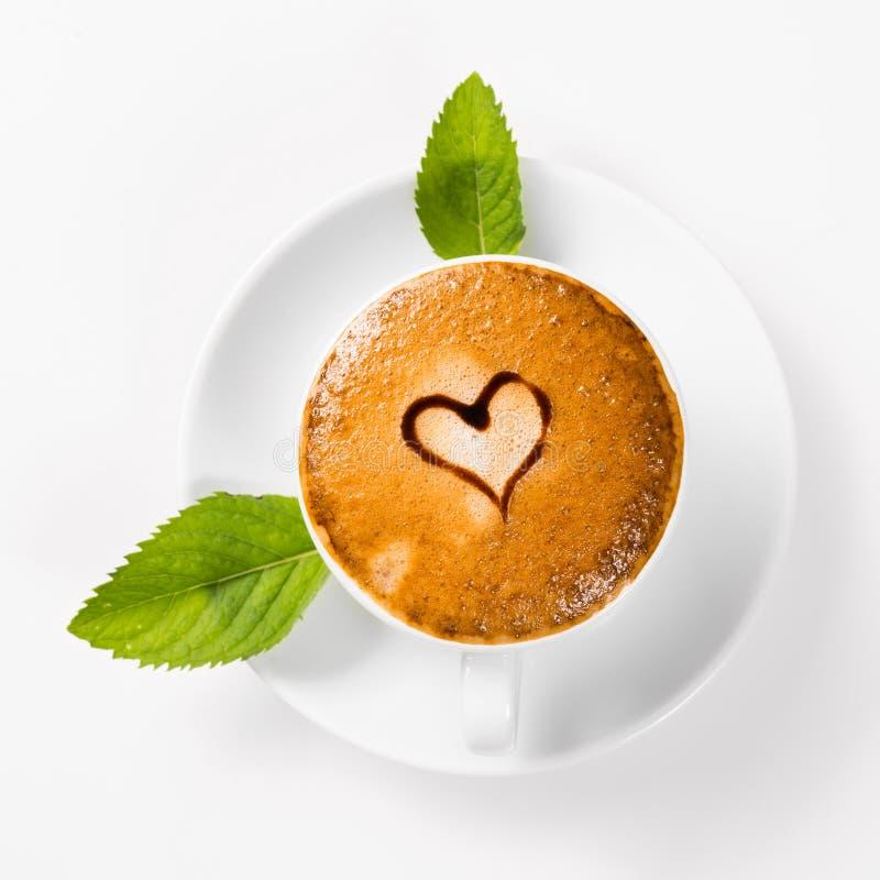 Großer Tasse Kaffee lizenzfreie stockfotos