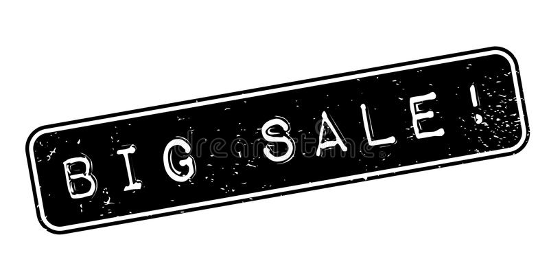 Großer Verkaufsstempel lizenzfreie abbildung