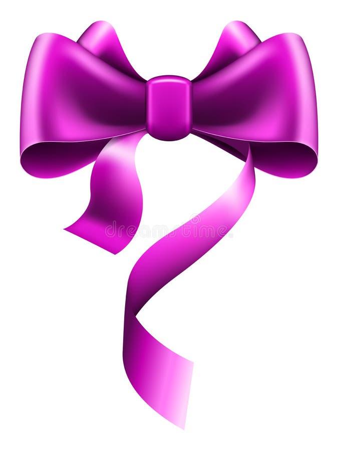 Großer violetter Bogen lizenzfreie abbildung