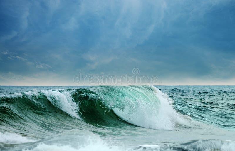 Großer Wellenozean stockfoto