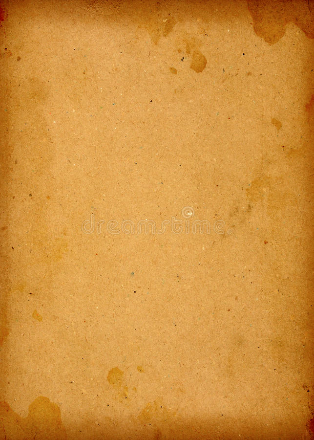 Großes Altes Extrapapier Stockbilder