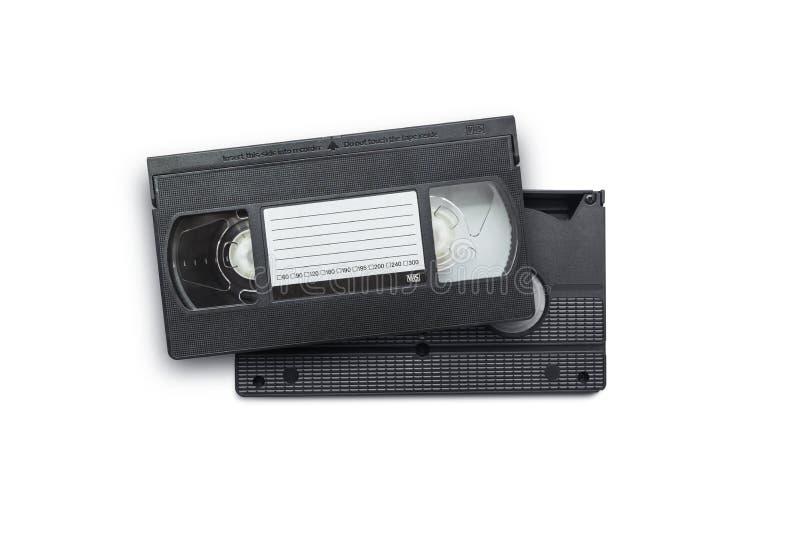 Großes Bild einer alten Videokassette lizenzfreie stockfotos