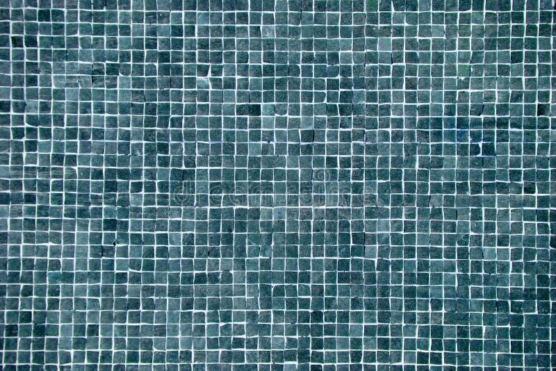 Großes blaues Mosaik stockbilder