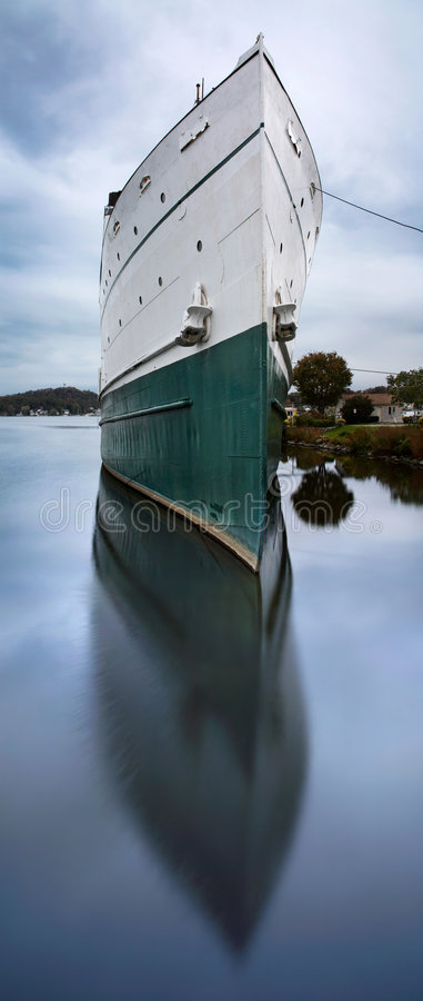 Großes Boot Stockfoto