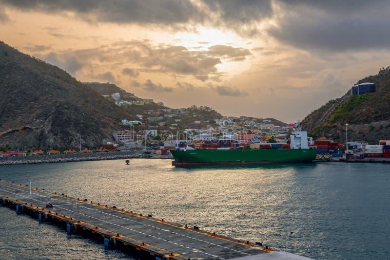 Großes Bucht-St. Maarten lizenzfreie stockfotos