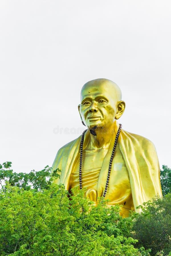 Großes Buddha-wat doi Ti, Lumphun Thailand lizenzfreie stockfotos
