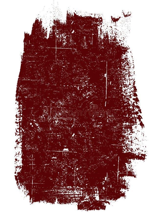 Großes einzelnes Quadrat lizenzfreie abbildung