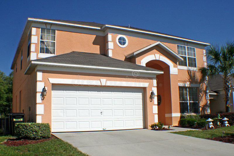 Großes Florida-Haus stockfoto