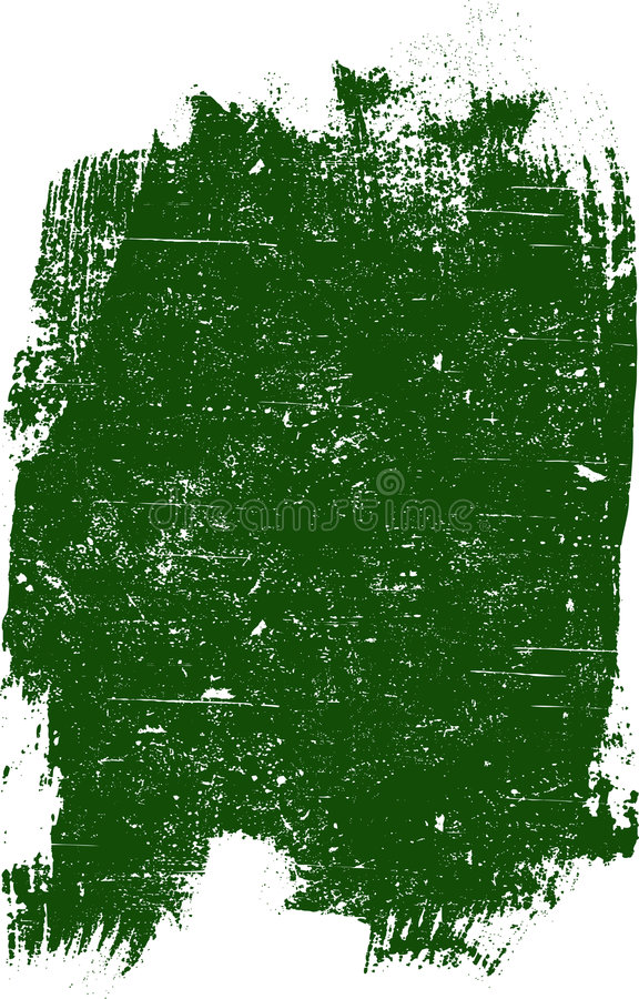 Großes Grunge Quadrat   lizenzfreie abbildung