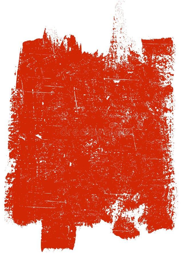 Großes Grunge Quadrat 4 lizenzfreie abbildung